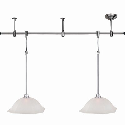 Winslow 2 Light Track Pendant