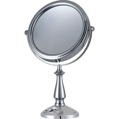 E-Ware Cosmetic Makeup Clock and Mirror