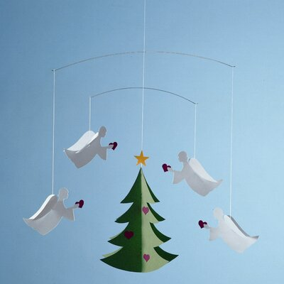 Flensted Mobiles Four Christmas Angels of Love Mobile