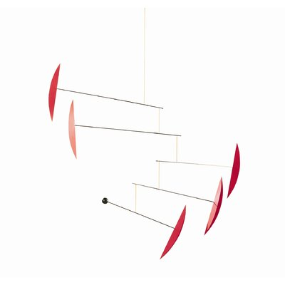 Flensted Mobiles Abstract Tango Mobile in Red