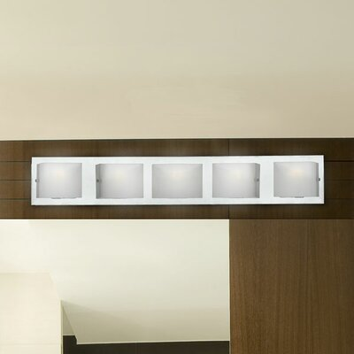 Eurofase Talo Five Light Vanity Light