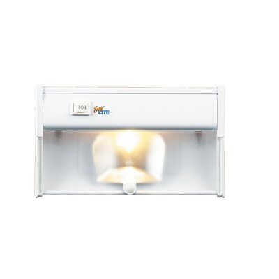 Eurofase One Light Undercabinet with Frosted Glass Lens in White