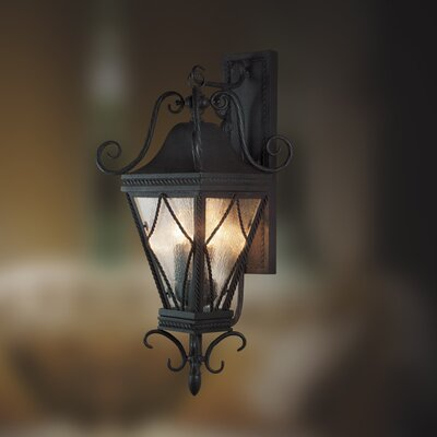 Eurofase Mavis Rope Trim 3 Light Wall Sconce