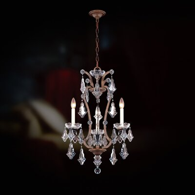 Eurofase Colette 3 Light Chandelier