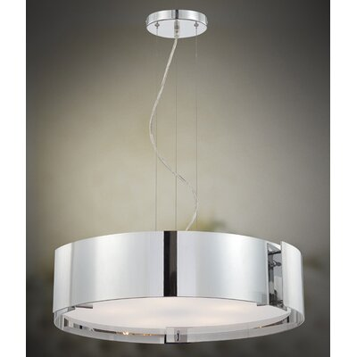 Eurofase Dervish 5 Light Drum Pendant