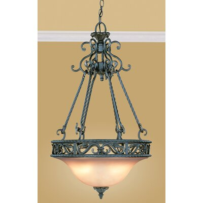 Eurofase Oxford 3 Light Inverted Pendant