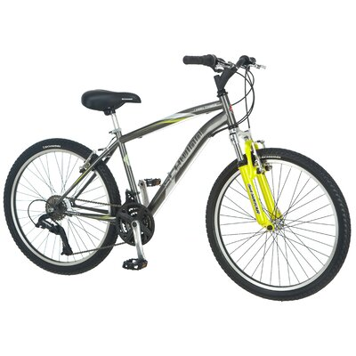 "Schwinn Boy's 24"" High Timber Front Suspension Mountain Bike"