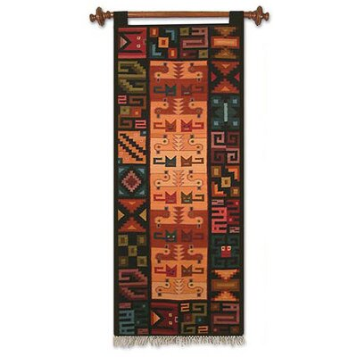 Novica 'Of Cats and Ducks' Tapestry