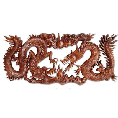 'Battle of the Dragons' Wall Panel
