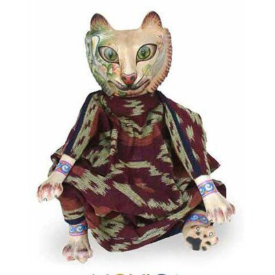 'Cat Who Loves Nature' Display Doll