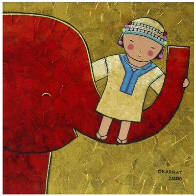 Novica 'The Happiness' Wall Art