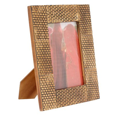 Novica The Kamal Artisan (4x6) Bijapur Fort Horn Photo Frame
