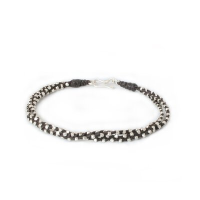 The Napapat Artisan Silver Hill Tribe Dreams Braided Bracelet