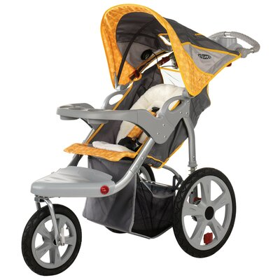 InSTEP Grand Safari Swivel Wheel Single Stroller