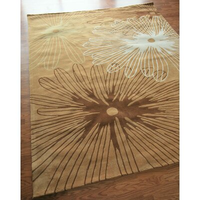nuLOOM Cine Starburst Chic Brown Rug