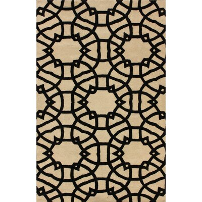nuLOOM Marbella lattice Beige Rug