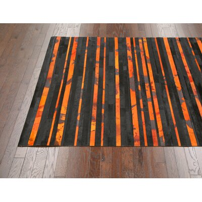 nuLOOM Noxian Orange Distressed Rug