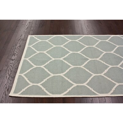 nuLOOM Gelim Light Grey Trellis Rug
