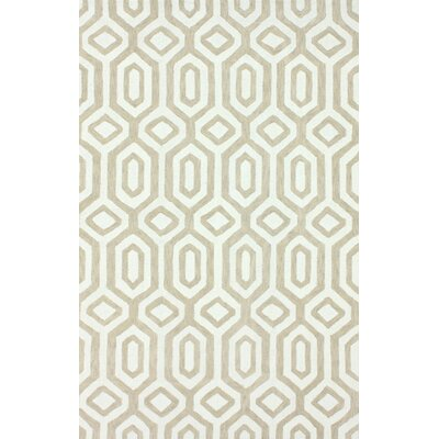 nuLOOM Pop Dove Grey Xue Trellis Rug
