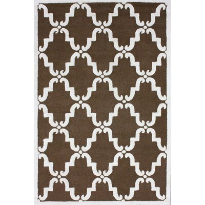 Moderna Brown Dahlia Rug