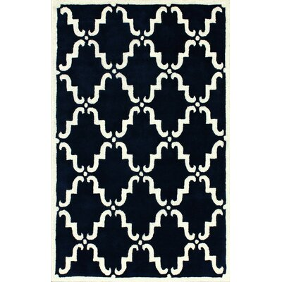 nuLOOM Moderna Navy Trellis Rug