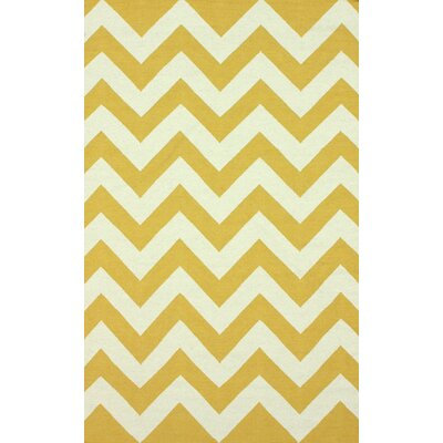 nuLOOM Moderna Gold Chevron Rug
