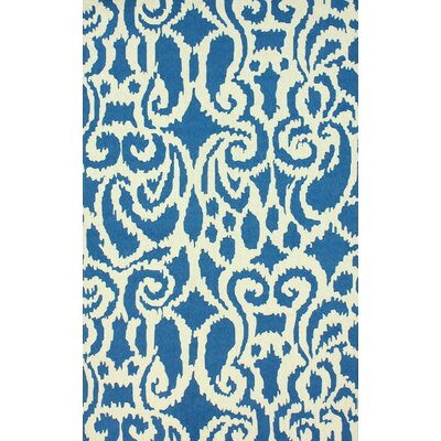 nuLOOM Trellis Blue Ikat Rug