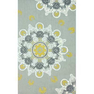 Brilliance Textured Medallion Rug