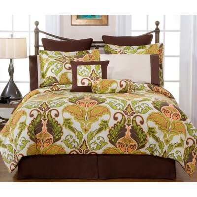Pointehaven Hannah 12-Piece Bedding Ensemble