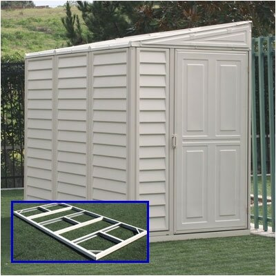 Duramax Building Products SideMate Vinyl Lean-To Shed