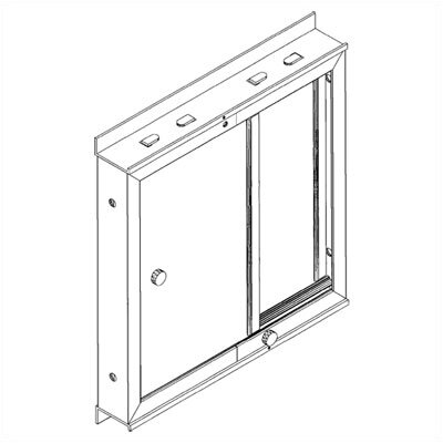 Duramax Building Products Window Kit for Duramate, Sidemate, and YardMate Sheds