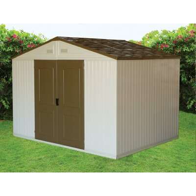 Duramax Building Products WestChester Vinyl Garage Shed
