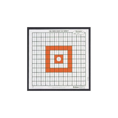 Allen Company Remington Grid Shooting Target (Set of 12)