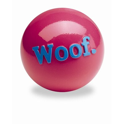 Planet Dog Orbee-Tuff Woof Ball Dog Toy in Pink