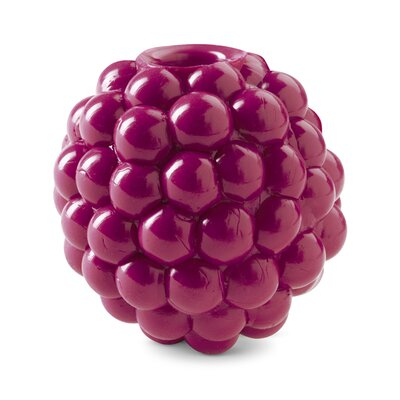 Planet Dog Orbee-Tuff Raspberry Dog Toy with Treat Spot