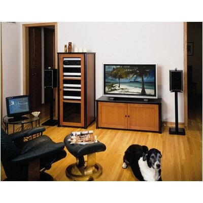 "Sanus Natural 24"" Fixed Height Speaker Stand (Set of 2)"