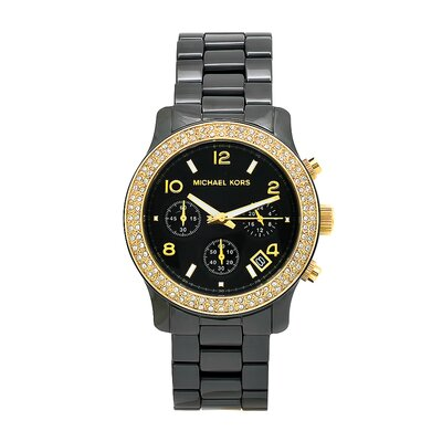 Michael Kors Women's Classic Black Ceramic Watch