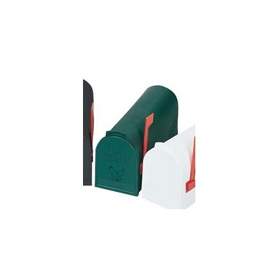 Flambeau Standard #1 Rural Post Mounted Mailbox
