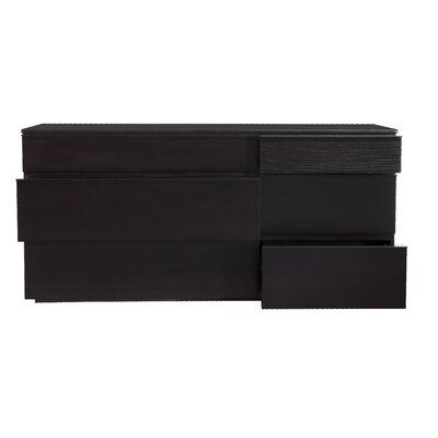 Star International Del Mar 6 Drawer Double Dresser