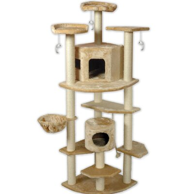 Go Pet Club 80&quot; Cat Tree