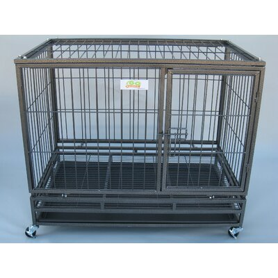 Go Pet Club Metal Dog Crate
