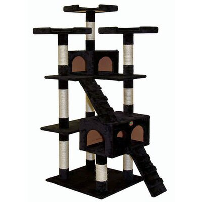 "Go Pet Club 72"" Cat Tree Condo House"