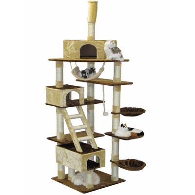 "Go Pet Club 95"" Condo House Cat Tree"