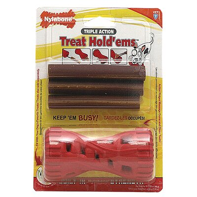 Nylabone Treat Hold Ems Dog Toy and Treat