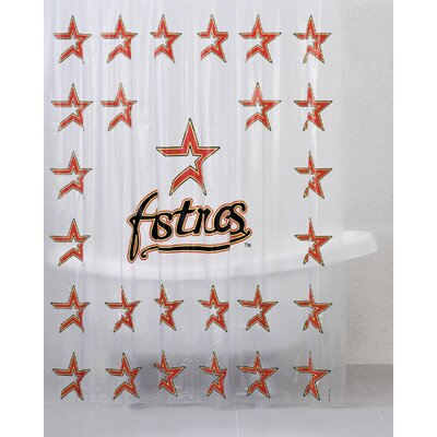 Championship Home Accessories MLB PVC Shower Curtain