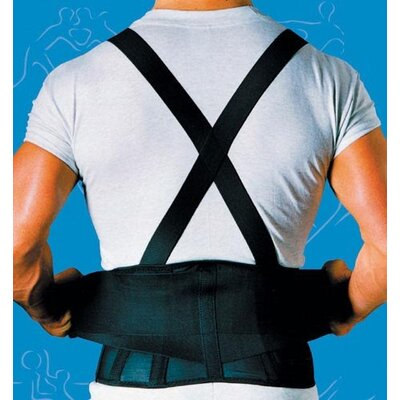 Scott Specialties Back Belt with Suspenders in Black