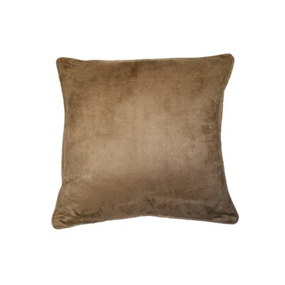 Scandinavian Suede Decorative Throw Pillow