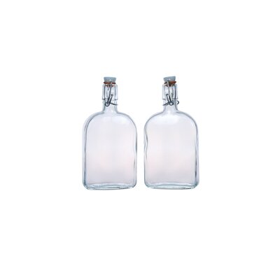 Global Amici Flask Large Bottles (Set of 2)