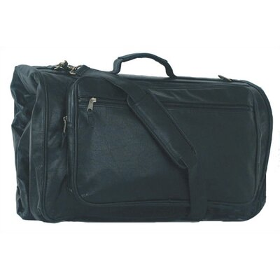 Highland II Tri-Fold Black Garment Bag