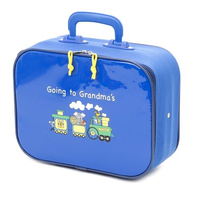 "Mercury Luggage Going to Grandma""s Children""s 9.5"" Suitcase"